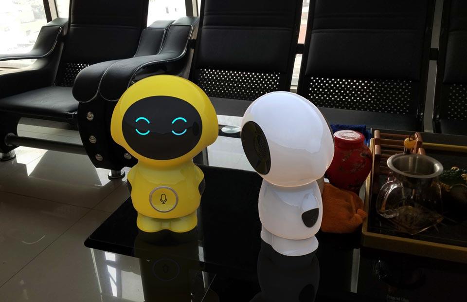 儿童智能陪护机器人工业设计