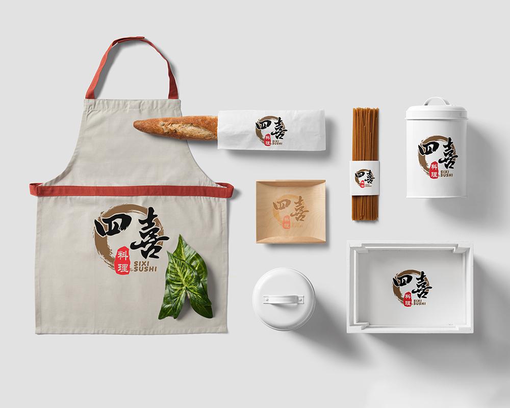 分享一组料理VI设计