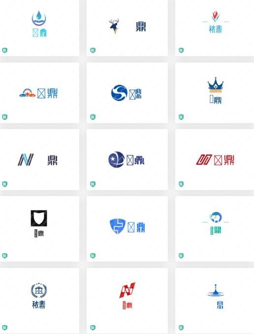 饲料行业的logo设计案例合集:秾鼎