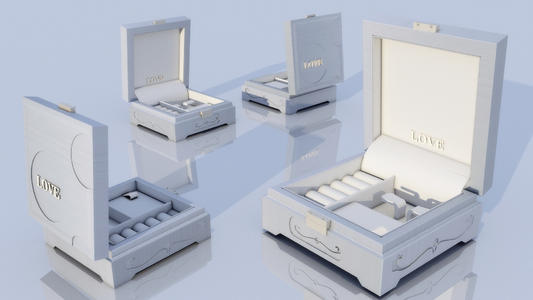 首饰包装盒设计的基本流程