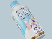 甜牛奶包装设计