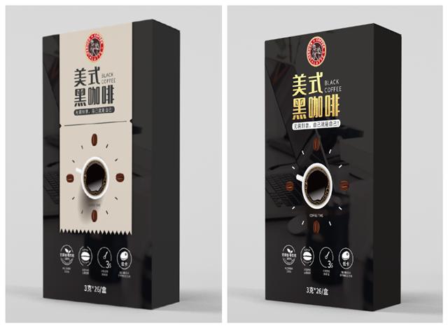速溶咖啡外包装设计