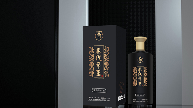 酒瓶外观及包装设计