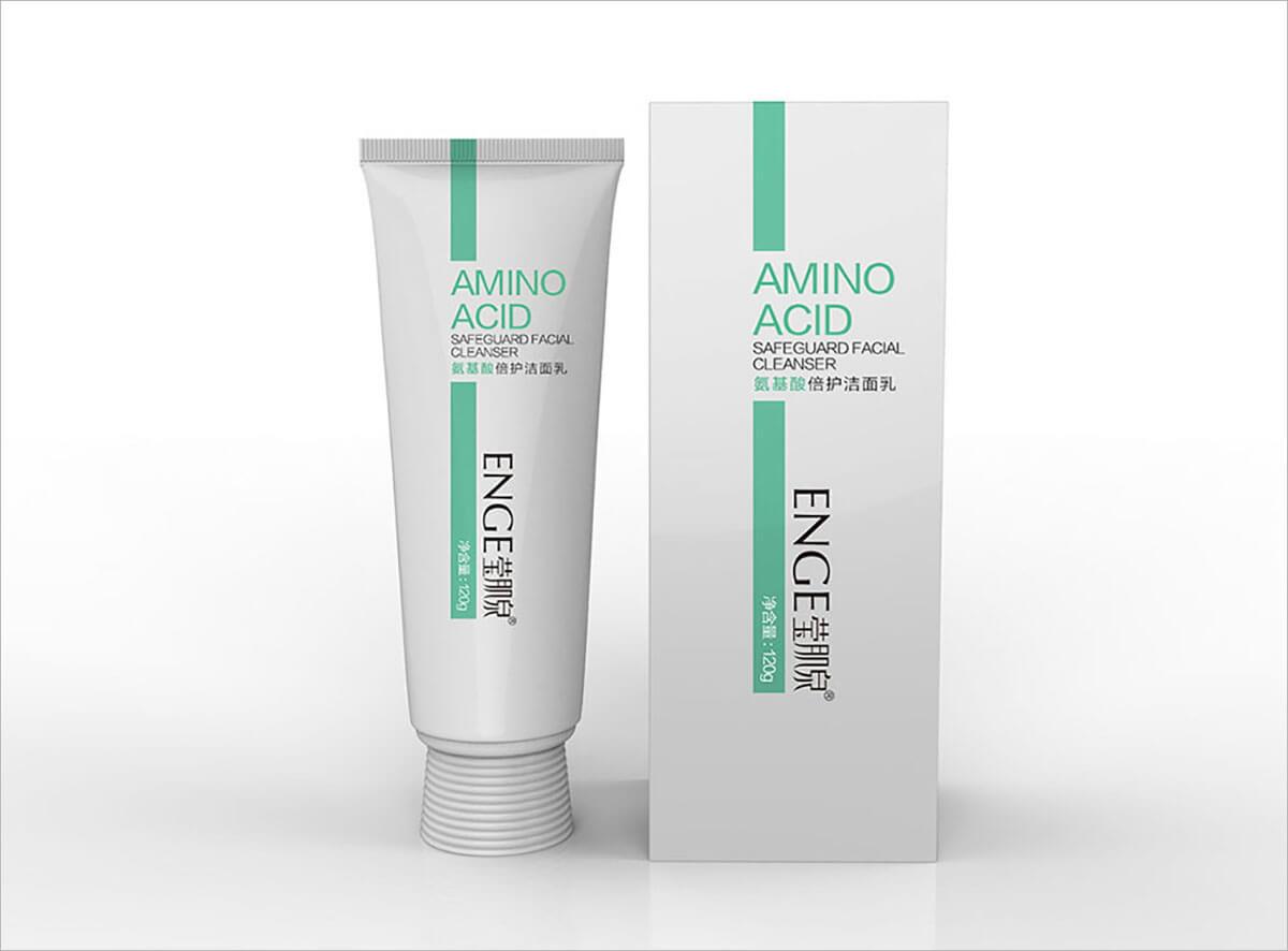 莹肌泉氨基酸洁面系列包装设计