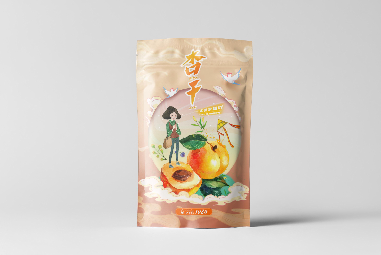 果干 —— 食品包装设计(内袋➕礼盒)
