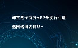珠宝电子商务APP开发行业遭遇网络何去何从?