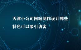 天津小公司网站制作设计哪些特色可以吸引访客