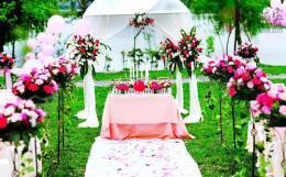 清新的郊外婚庆策划方案 绿色个性郊外婚庆策划