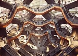"""纽约哈德逊园区""""楼梯""""建筑"""