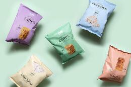 Poppa国外薯片包装设计欣赏