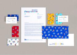 direction education教育机构品牌视觉设计视觉感受