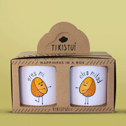 Tikistuí创意陶瓷马克杯时尚简约包装设计