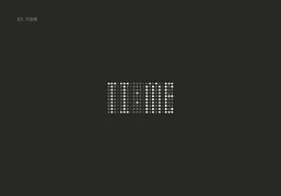 Lucas Gil-Turner:根据字形字义创作的简约文字logo设计