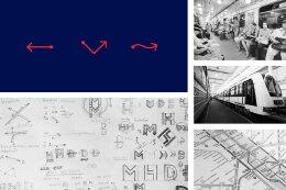 布达佩斯公共交通系统创意标识标牌设计欣赏