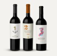 简约时尚创意葡萄酒标签设计欣赏