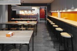 Pizza Workshop餐厅创意品牌和室内设计欣赏