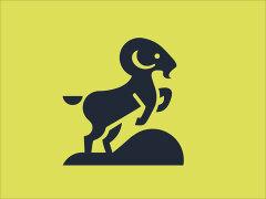 设计大作:Martigny Matthieu负空间效果的动物logo图案设计