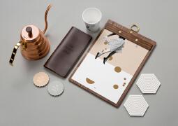 The Penny Drop创意形式多样的咖啡店品牌视觉设计