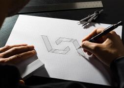 建筑公司VSA品牌潮流创意创新形象设计