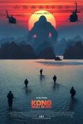 电影海报欣赏:金刚:骷髅岛 Kong: Skull Island 设计欣赏