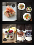 9个国外餐厅创意菜单极具诱惑的设计欣赏