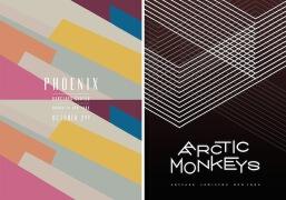 James Kirkup乐队演唱会具有视觉冲击创意海报设计