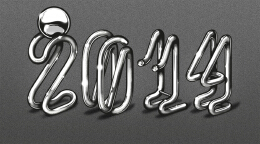 22款国外Baimu漂亮的金属管道字体作品设计赏析