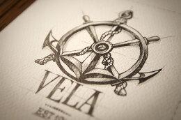 一组国外创意精致的手绘logo设计欣赏集锦