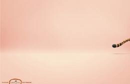 创意广告欣赏:辉柏嘉(Faber-Castell)素描美术绘图橡皮泥