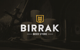 经典Birrak啤酒店品牌形象广告设计欣赏