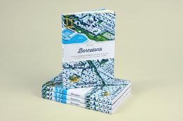 创意插画风格的城市指南图书封面设计