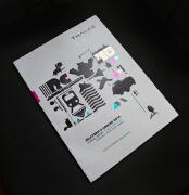 13款国外创意画册Thales年报画册欣赏