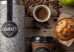 高档次的品牌咖啡店视觉形象广告设计