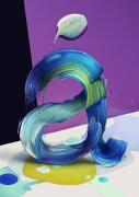 栩栩如生的创意3D艺术字体设计欣赏