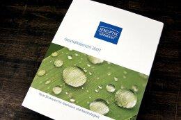 光学公司jenoptik的精美年报画册设计欣赏