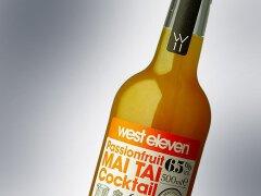 鸡尾酒瓶贴欣赏——酒瓶设计