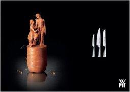 10款品牌厨房刀具广告设计