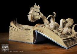 文字造就世界:书店创意宣传广告欣赏