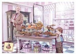 ThePatisserie蛋糕店创意平面广告