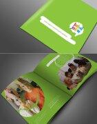 经典传统手绘的精美简约画册设计欣赏
