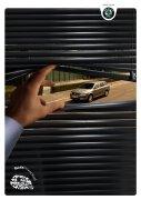 斯柯达汽车品牌商业广告设计