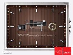 4组有创意的办公家具设计平面广告欣赏