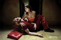 超酷优秀的女装品牌平面创意广告