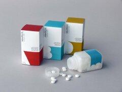 维生素片精简舒服包装设计欣赏