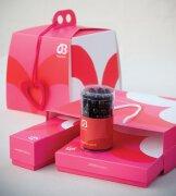 甜美情人节蛋糕经典包装设计