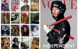 設計師精美時尚雜志——雜志版式設計