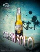 PS作品欣赏:创意的Coronita啤酒平面广告设计