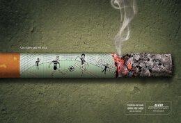 看完这组戒烟公益广告,你该戒烟了!