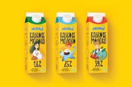 8款牛奶环保包装设计作品