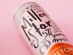 罐装的苹果酒瓶包装设计